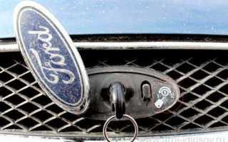 Форд Фокус 2 сломался замок капота как открыть капот