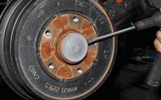 Замена задних тормозных колодок Рено Дастер 4х4