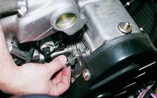 Двигатель 406 инжектор где находятся датчики давления масла