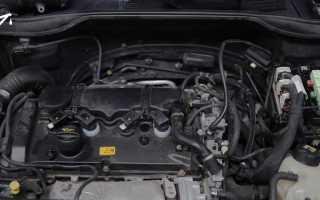 Холостые обороты двигателя и давление в системе