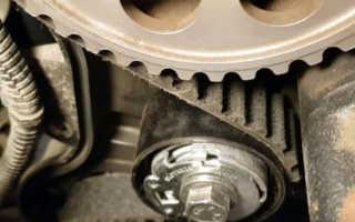 Через какое время нужно менять грм двигателя ремень