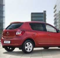 Расход топлива Renault Sandero