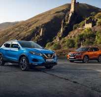 Краш тест Nissan X Trail
