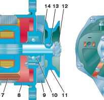 Генератор уаз буханка 402 двигатель схема подключения