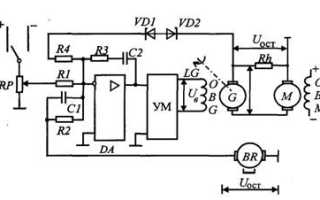 Что приводит в действие приводной двигатель генераторного автомата