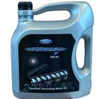 Масло для форд фокус 2