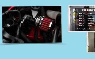Что будет если завести двигатель без воздушного фильтра