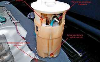 Замена топливный фильтр Ниссан Альмера классик