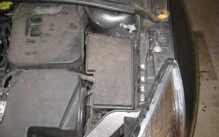 Блок предохранителей Форд Фокус 3 в салоне где находится