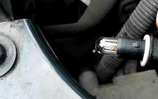 Замена лампы ближнего света h7 на volkswagen polo
