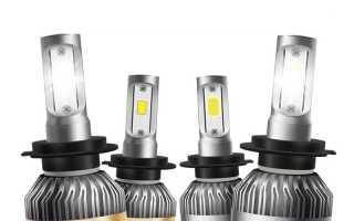Замена лампы ближнего света Фольксваген Поло седан