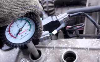 В чем измеряется компрессия в дизельном двигателе