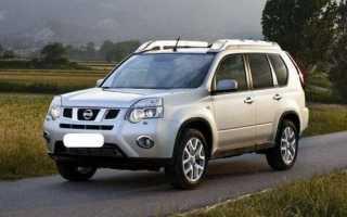 Nissan X Trail замена ламп
