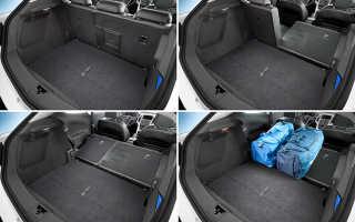 Опель Астра h универсал размеры багажника