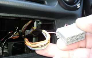 Как подключить магнитолу в ваз 2106