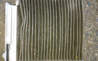 Рено Логан 2 салонный фильтр