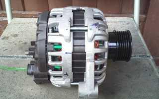 Как снять генератор с приоры с кондиционером