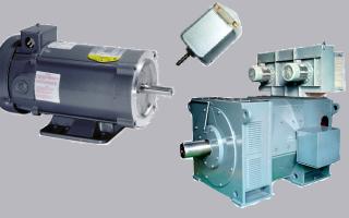 Двигатели постоянного тока с тиристорными схемами управления