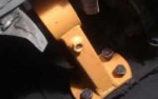 Ваз 2109 как заменить переднюю подушку двигателя