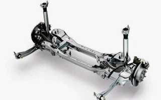 Замена опоры заднего амортизатора Форд Фокус 2