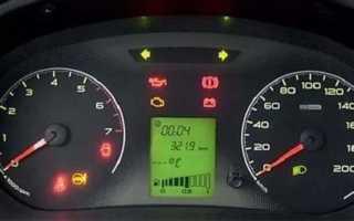 Температура двигателя лада гранта