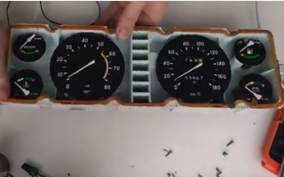 Как снять панель приборов на ваз 2107