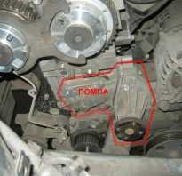Форд Фокус 2 замена помпы