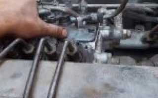 Как установить зажигание на двигателе камаз евро