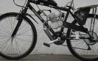 Установка двигателя от бензопилы на велосипед схема