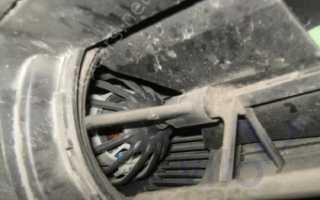 Рено Логан замена мотор отопителя