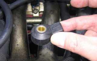 Что такое датчик детонации двигателя на мазде 3