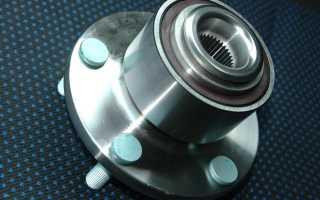 Форд Фокус 2 замена переднего ступичного подшипника