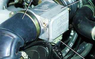 Двигатель 406 инжектор где находится датчик давления масла