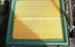 Лада гранта замена воздушного фильтра