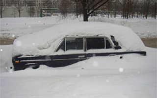 В чем минус при пуска двигателя в мороз