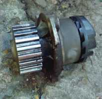 Замена помпы лада гранта 8 клапанов