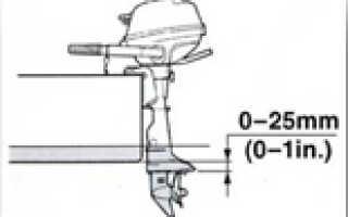 Холостые обороты лодочного двигателя какие должны быть