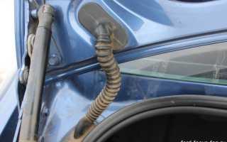 Замена кнопки багажника Форд Фокус 2 седан