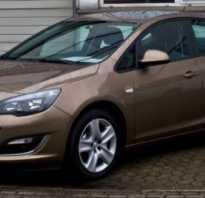 Opel astra j антифриз