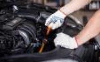 Через какой пробег менять масло синтетику в двигателе