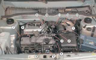 Датчик температуры двигателя ваз 2114 не показывает температуру