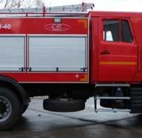 Время работы двигателя пожарного автомобиля при смене караулов