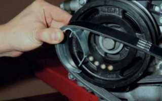 Замена приводного ремня Форд Фокус 2