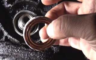 Замена переднего сальника коленвала рено логан