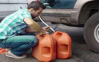 Как слить бензин с ларгуса