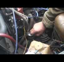 Ваз 2106 дергается и двигатель работает не ровно