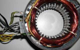 Генератор из асинхронного двигателя схема на одном конденсаторе