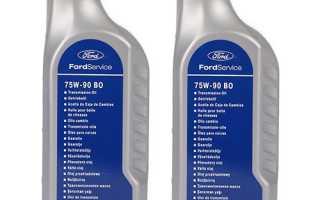 Замена масла в коробке механика Форд Фокус 2