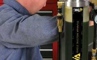 Чем промыть топливную систему дизельного двигателя от стружки