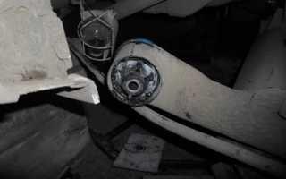 Замена сайлентблоков передних рычагов Рено Логан своими руками